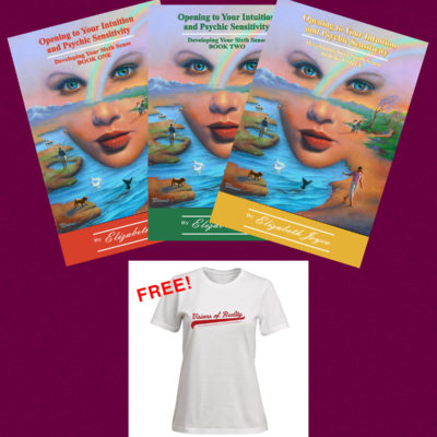 Psychic Trilogy with Free T-Shirt