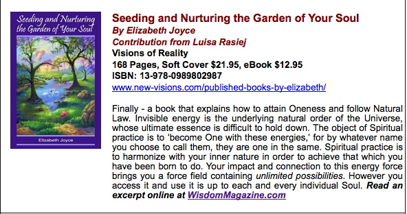 """Garden"" Book Review 1-2-15-Wisdom"