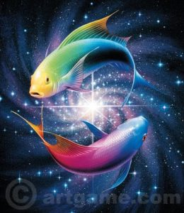 Pisces Fish-color