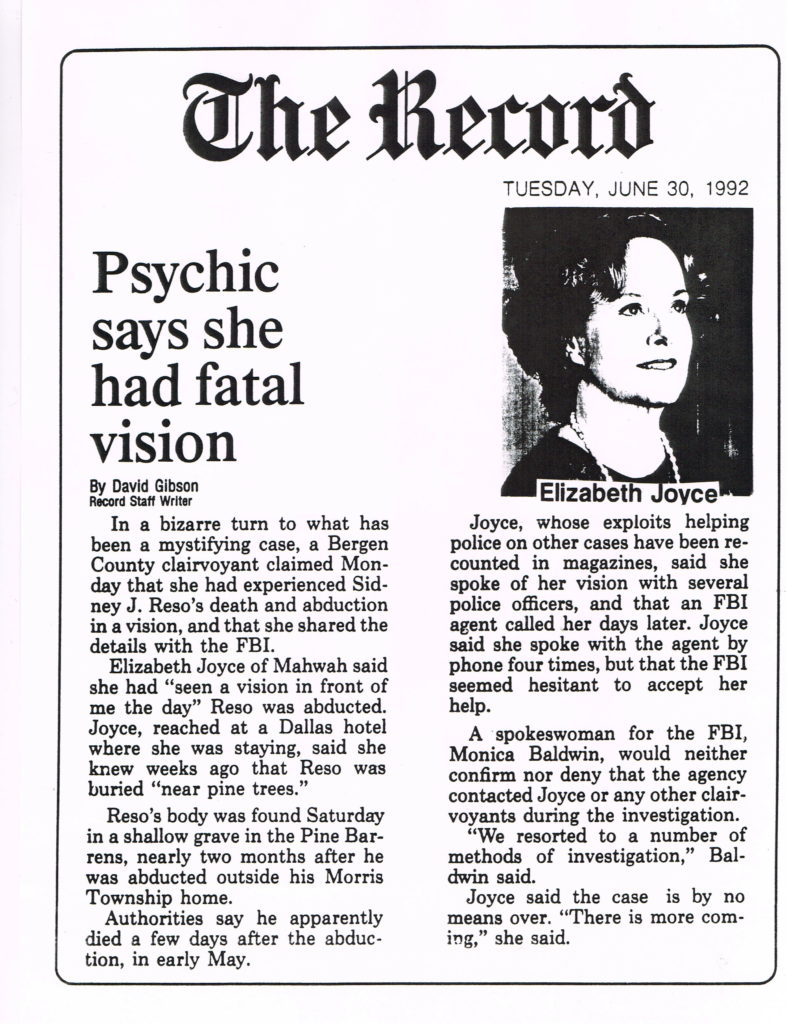 Psychic's Fatal Vision 6:92