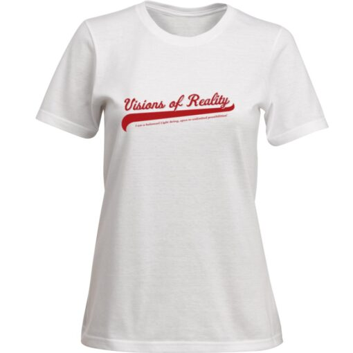 White Visions of Reality T-Shirt