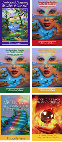 Books by Psychic Elizabeth Joyce